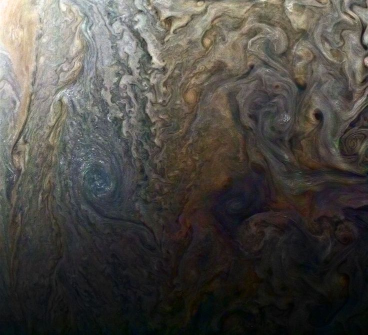 Picture of Jupiter's surface