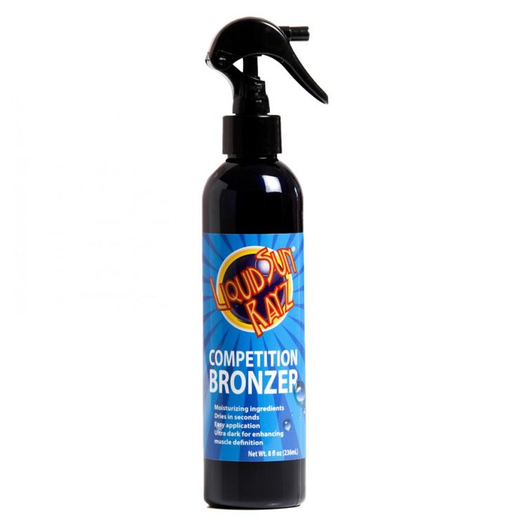 Liquid Sun Rayz Competition Bronzer Spray  http://www.liquidsunrayz.co.uk/competition-bronzer.aspx