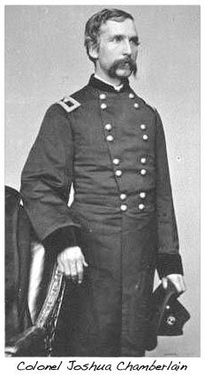 This is an actual photo of Joshua Chamberlain. The comparison between him and Jeff Daniels is stunning.
