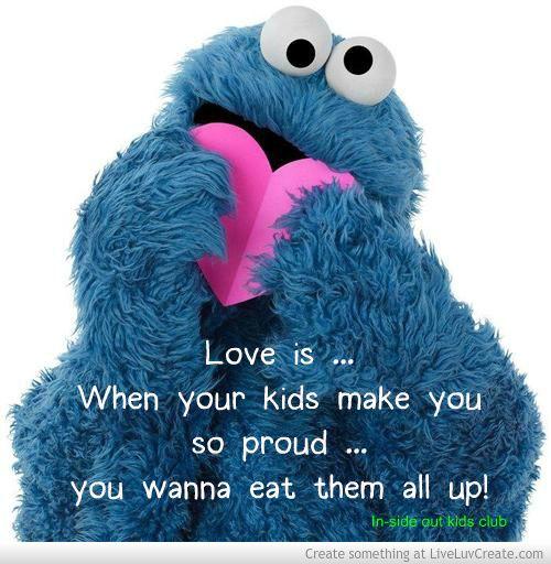 Love is ... Proud parent quote #insideoutkids