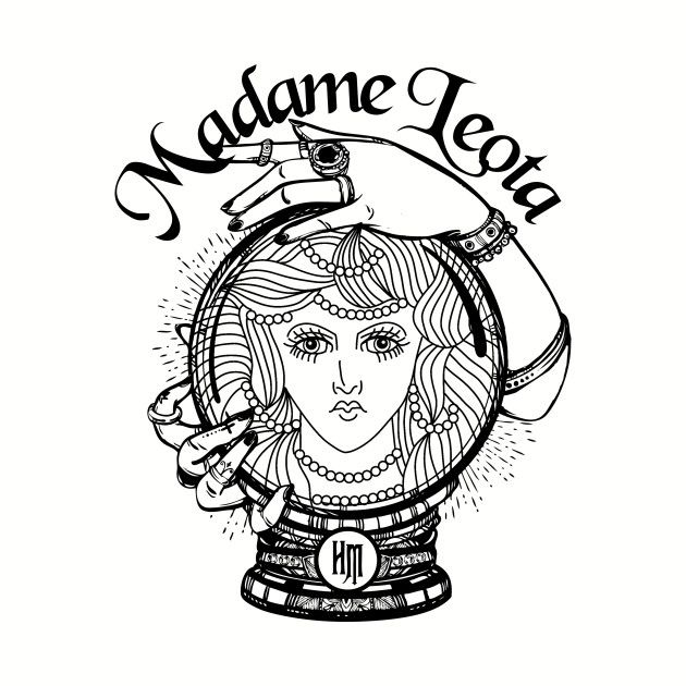 Check Out This Awesome Madame Leota Vol 2 Design On Teepublic Dark Disney Tattoo Haunted Mansion Tattoo Disney Tattoos