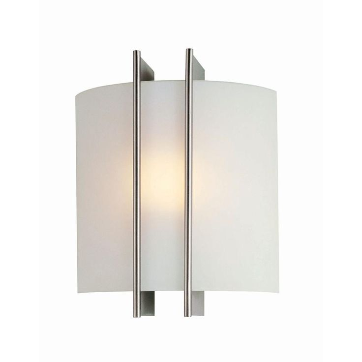 Illumine Reyna 1 Light Steel Sconce With Frosted Glass CLI LS 1673
