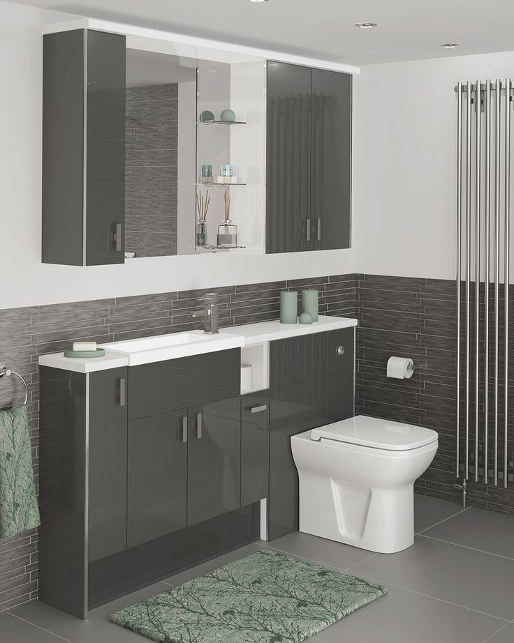 Make a statement with our Novara furniture; which has an Anthracite grey colour for a striking look. Novara has a reflective finish so although the colour is deep Anthracite Grey, it will reflect light into the room, making it look brighter.