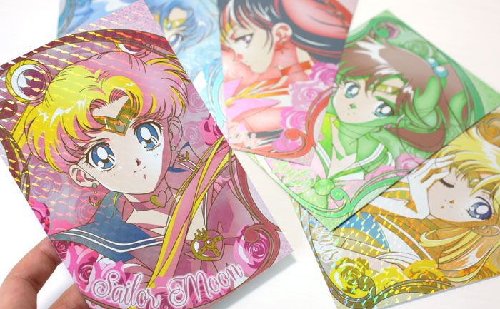 Sailor Moon Character Sailor Postcard Collection (Movie Scene)