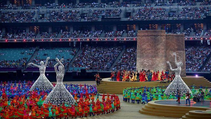 Baku 2015 European games closing ceremony ^^