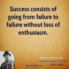 Success consists of going from failure to failure without loss of enthusiasm. - Winston Churchill http://www.JenThoden.com