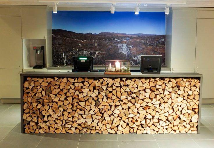 Reception in Norwegian Lodge by: MOOD interiorarchitect Vibeke Sagen Dale