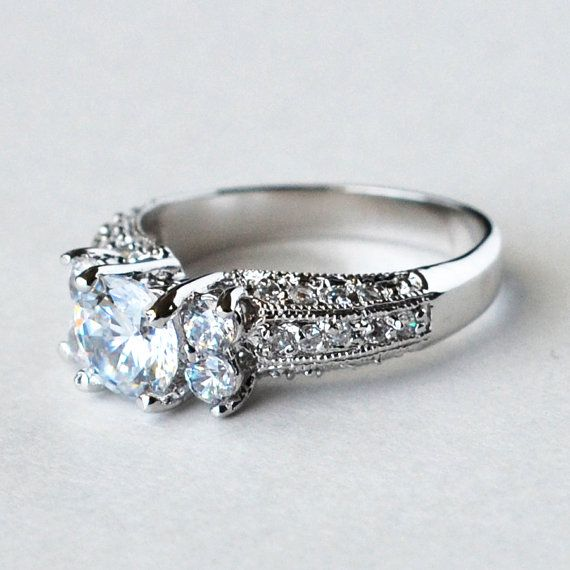 Hey, I found this really awesome Etsy listing at https://www.etsy.com/listing/192696974/cz-ring-cz-wedding-ring-cz-engagement
