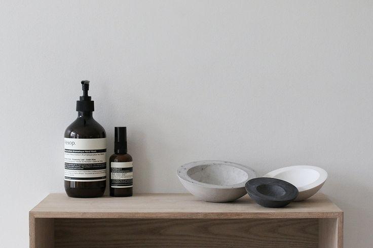 porcelain bowl trio by poast scandinavian design norway by POAST