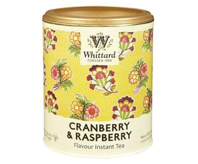Whittard Cranberry & Rasphberry Flavour Instant Tea Drink