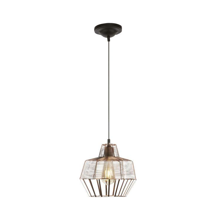 Hippolyte koperen hanglamp - copper pendant lighting