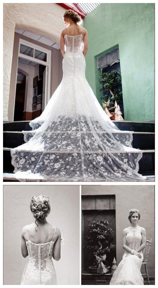 Wedding Dresses,2016 Wedding Gown,Lace Wedding Gowns,Bridal Dress,Fitted Wedding Dress,Brides Dress,Vintage Wedding Gowns,Straps Wedding Dress