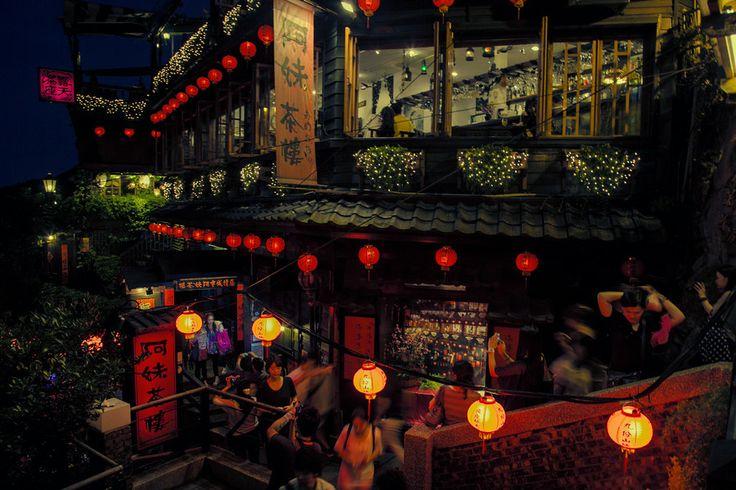 Bustling Old Street by Hanson Mao on 500px // Jiufen