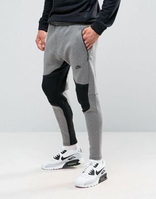 Nike - Tech - Pantalon de jogging en polaire - Gris 805658-063