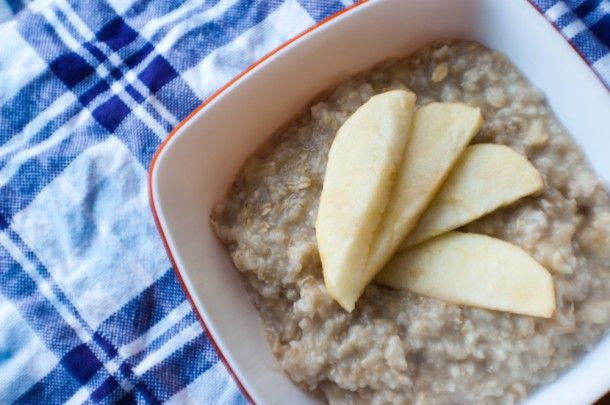 banana oatmeal with steamed appleMeals Weeks, Banana Oatmeal, Bananas Oatmeal, Eating Breakfast, Steam Apples, Healthy Breakfast, Cheap Eating, Cleaning Eating, Based Recipe
