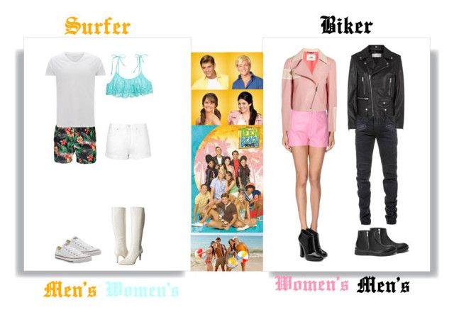 """DIY Teen Beach Movie Costume"" by pandagirl1106 ❤ liked on Polyvore"