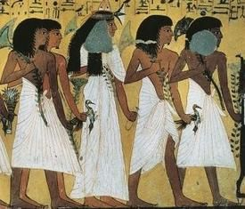 Colocynth in Ancient Egypt  its leaves and flowers were often part of wreaths and garlands, and were offered to the gods. In a scene of mourning for Princess Meketaten,