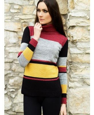 Rewelacyjny, gruby, cieply golf idealny na zimne dni. Bardzo modne kolory.