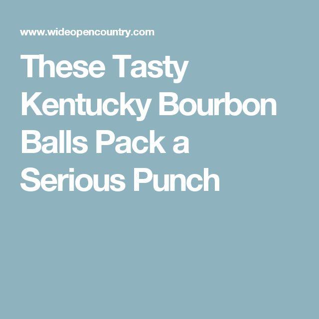These Tasty Kentucky Bourbon Balls Pack a Serious Punch
