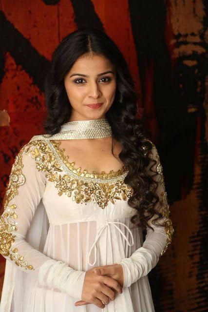 Mahima Makwana Latest Hot Cleveage Spicy Whote Dress PhotoShoot Images At Venkatapuram Movie Logo Launch  actress Mahima Makwana