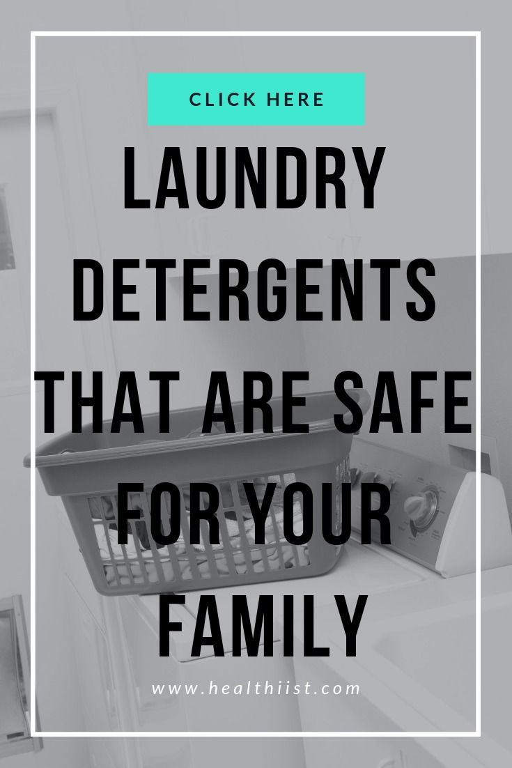 Clean Green Laundry Detergents That Are Safe For Your Family