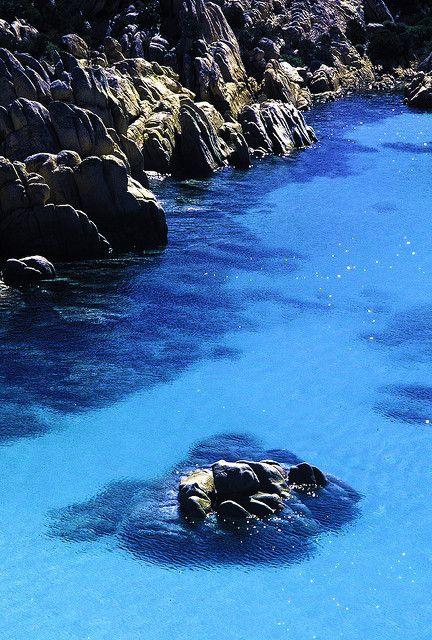 Cala Coticcio, Arcipelago di La Maddalena National Park, Sardinia, Italy ✯ ωнιмѕу ѕαη∂у