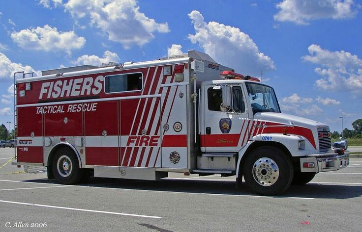 ◆Fishers, IN FD Heavy Rescue Squad◆