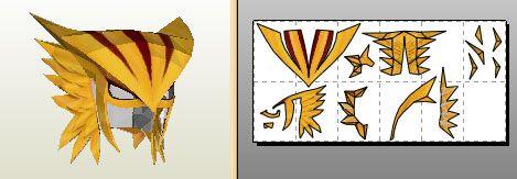 HAWKGIRL: JFcustom's FOAM files master list. Hawkgirl Helmet Pepakura file.