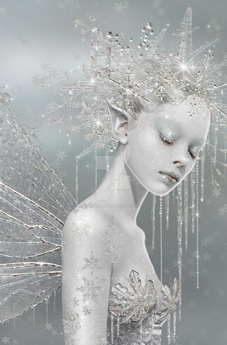 I'm so ignorant with digital art but this is stunning. Snow by Maxinesimaginarium.deviantart.com on @DeviantArt