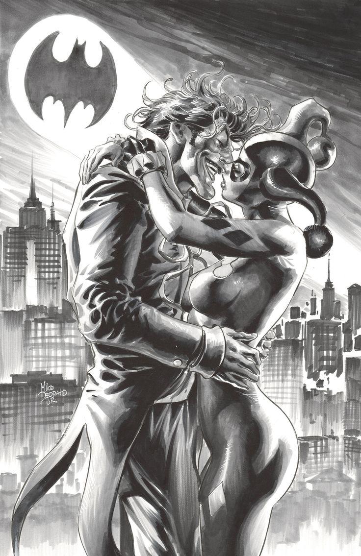 Joker & Harley by Mike Deodato Jr