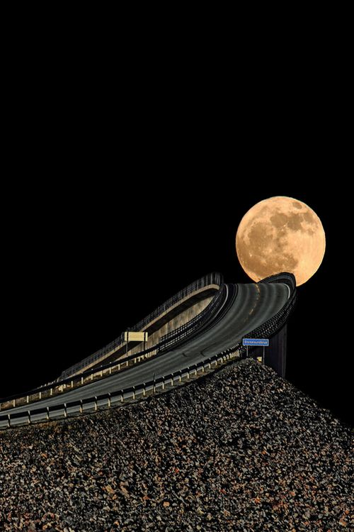 :Drive Me to The Moon… by Alireza Shakernia - Atlantic Highway, Norway