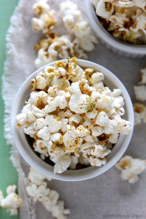 Chili Lime Popcorn: Fun Recipes, Chilis, Savory Recipes, Flavored Popcorn, May 5, Limes, Chili Lime Popcorn, Popcorn Recipes