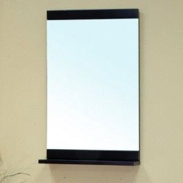 Bellaterra Home 203172-MIRROR Bathroom Mirror with Shelf