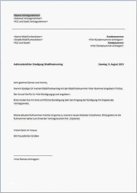 Konventionel Unitymedia Sonderkundigung Vorlage In 2020 Handyvertrag Vorlagen Word Vorlagen