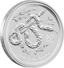 Zilveren Munten Kopen kan bij Dutch Bullion, zoals deze Lunar Snake 1 kilogram 2013 Zilveren Munt. Voor een overzicht van al onze zilveren munten kunt u kijken op: https://www.dutchbullion.nl/Zilver-Kopen/Zilveren-munten/