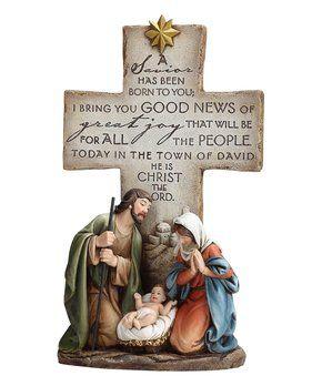 pin by lisha dail on christian christmas nativity crosses decor rh pinterest com