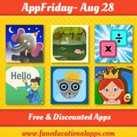 Best Free Apps for Kids - What's on for #APPFRIDAY .... A TOP PICK for Science and nature, A math app, a cool bedtime story book app, a cool storybook app.... and a lot more! Happy Download! http://www.funeducationalapps.com/2015/08/daily-best-free-and-discounted-apps-for-kids-and-education-appfriday-august-28.html
