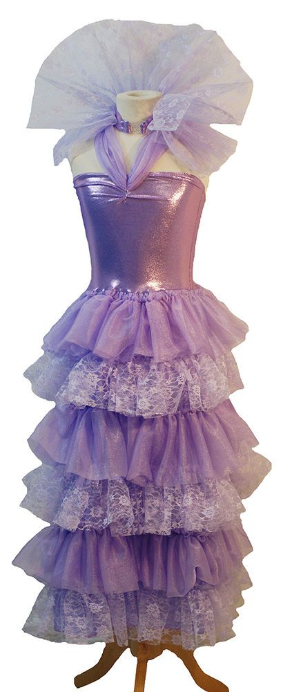 FAIRYTALE CORONATION GOWN. THIS IS A DELIGHTFUL FAIRYTALE DESCENDANT STYLE DRESS. IT HAS A STRETCH TWINKLE BODICE ATTACHED TO A LACE & TWINKLE LAYERED LILAC SKIRT. PERFECT FOR GOTHIC-FAIRYTALE-COMICON-OR JUST SIMPLE PARTY DRESS UP FUN. | eBay!
