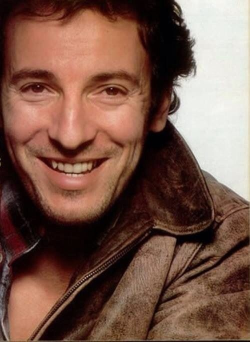 Bruce Springsteen - Best smile in the world. sami repinned by judithhall