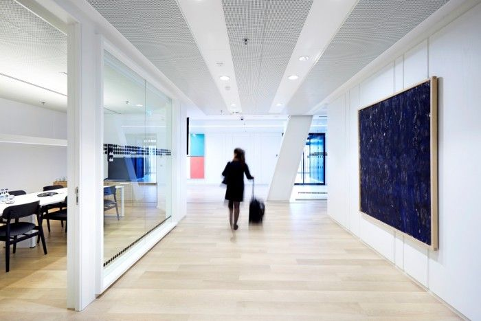 Banco Sabadell Londres. Oficinas corporativas en el Leadenhall Building - GRUP IDEA