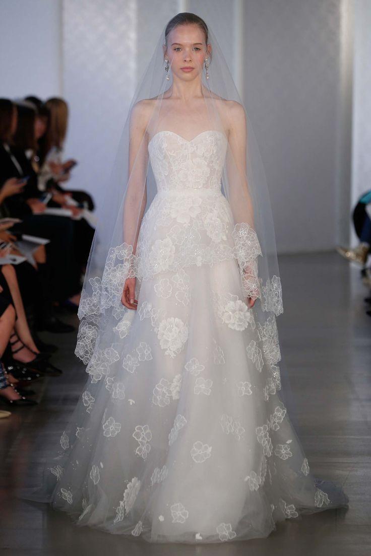 476 best the bride images on pinterest elie saab bridal oscar de la renta bridal spring 2017 fashion show ombrellifo Gallery