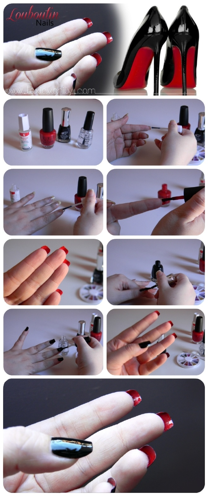 Toxic Vanity: DIY Louboutin Nails. Why have I never thought of this before?