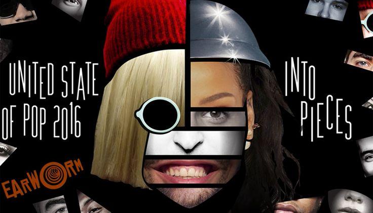 ブルーノ・マーズにジャスティン・ビーバー、Siaなどなど、2016年のアメリカヒットチャート25曲をもぎゅっと凝縮したマッシュアップ「United State of Pop 2016」を、Dj Earwormさんが公開しました。