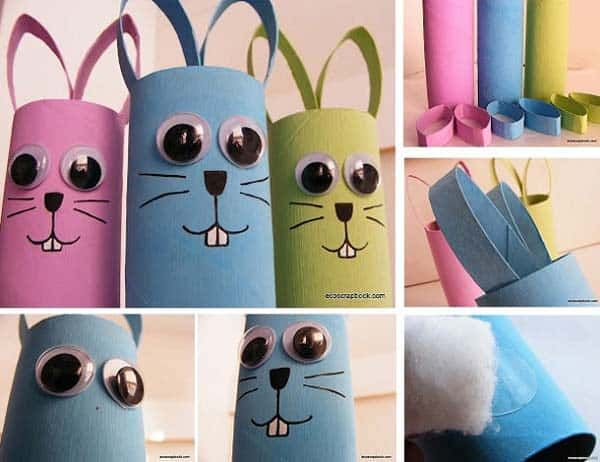 30 Superb Last Minute Easy Easter Crafts For Your Decor Homesthetics Inspiring Ideas For Your Home Easter Crafts Diy Easter Crafts Easter Paper Crafts