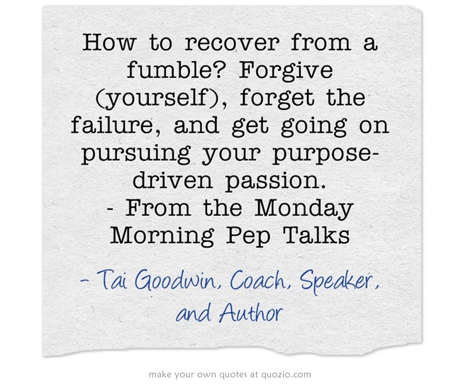 12 best monday morning pep talks images on pinterest monday forgive yourself forget the failure fandeluxe PDF