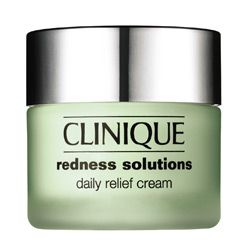 Clinique Redness Solutions Daily Relief Cream #clinique #rosacea #calmskincream