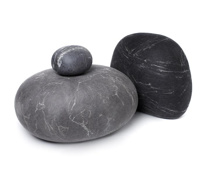 Good Dark Grey U0026 Charcoal Rock Cushions Photo