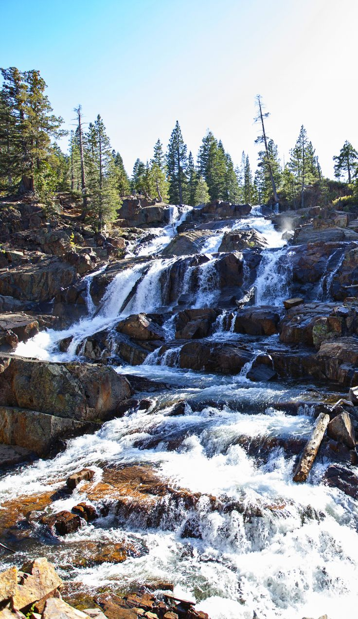 Glen Alpine Falls - Lake Tahoe, California