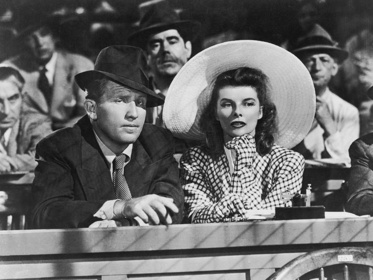 Katharine Hepburn, Spencer Tracy, and Sam Craig in Woman of the Year (1942)