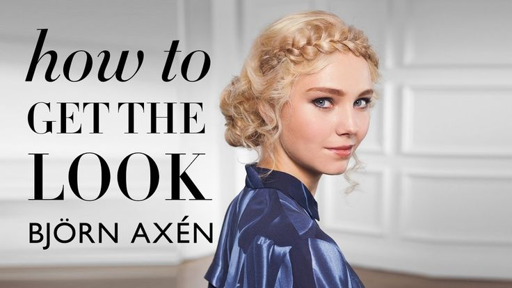Romantic updo/Romantisk uppsättning – how to get the look